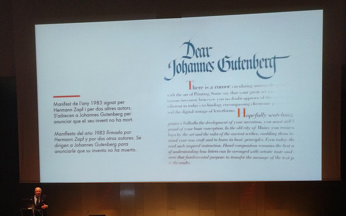 Tenemos que hablar de Gutenberg