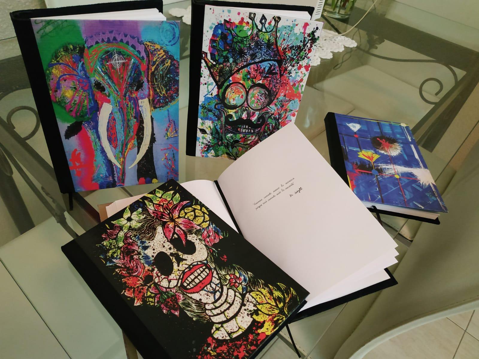 Los Cuadernos Arte A Mano, otra aplicación de La Jular