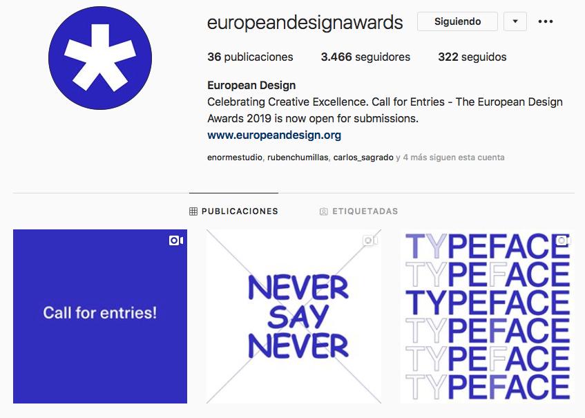 La campaña de Yinsen y Guillamón para los European Design Awards