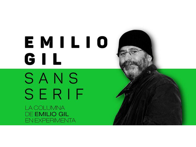 Emilio Gil, sans serif