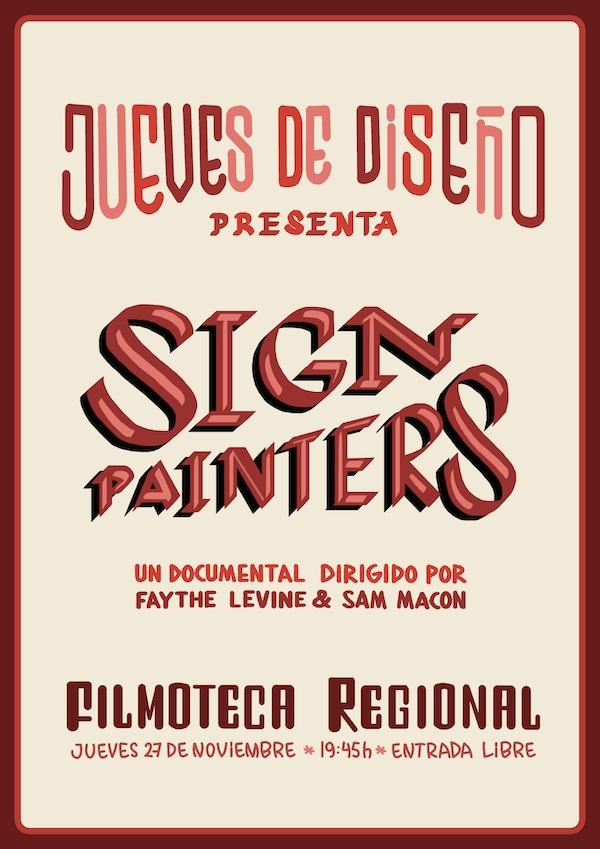 Sign painters, el cartel