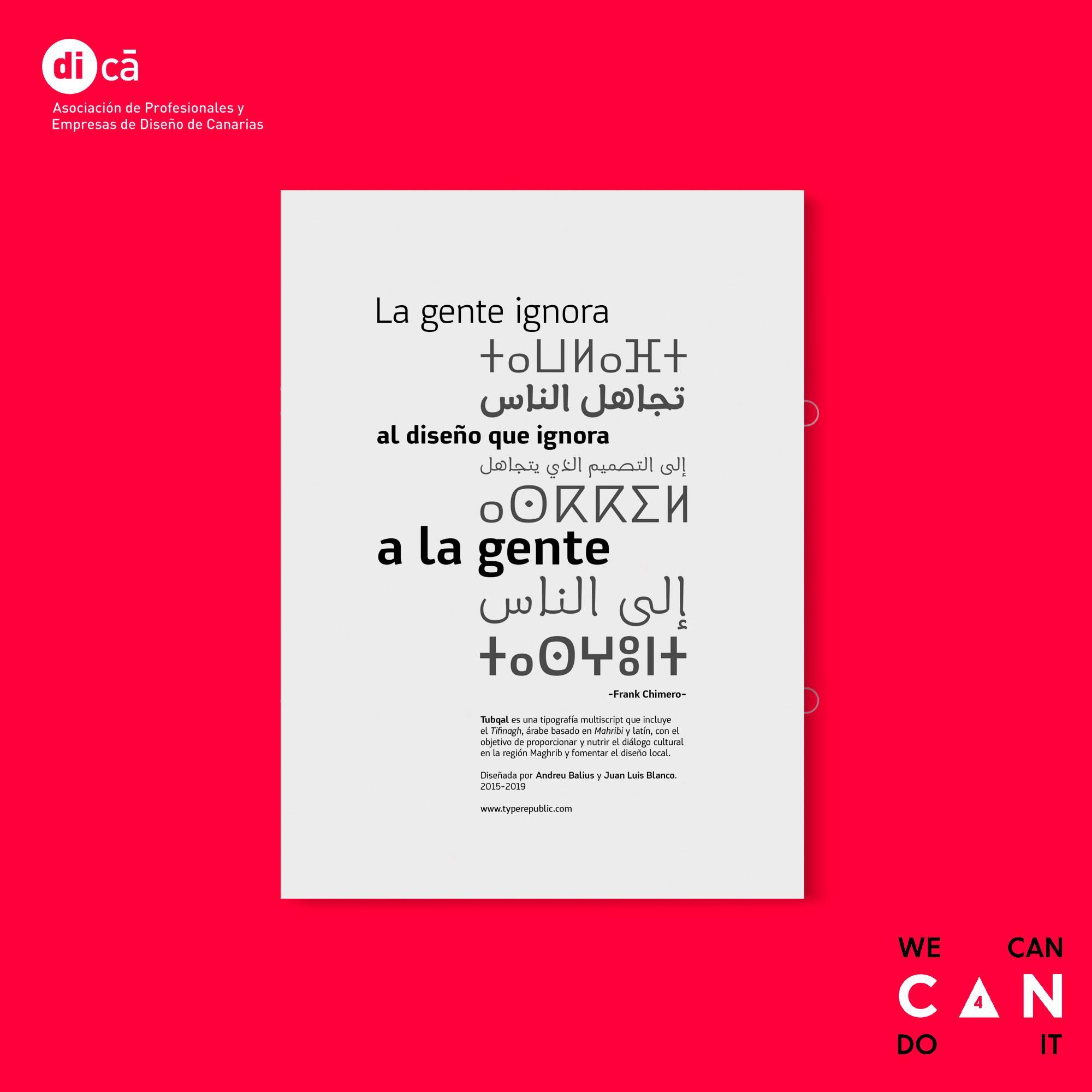 Las tipografías multiscript o multiescritura